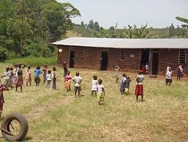 Primary school at Crater Lakes Uganda